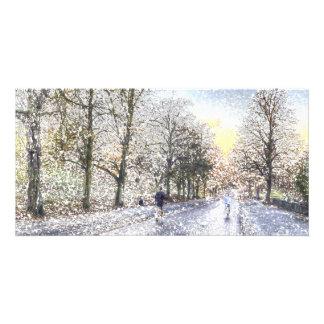 Greenwich Park London Art Card
