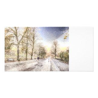 Greenwich Park London Art Custom Photo Card