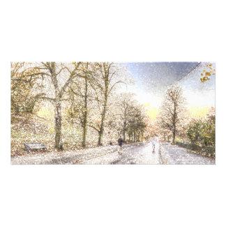 Greenwich Park London Art Picture Card
