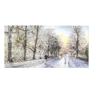 Greenwich Park London Art Customized Photo Card