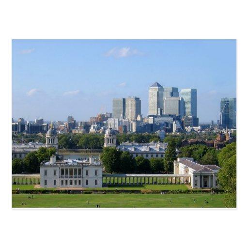 Greenwich Postcard