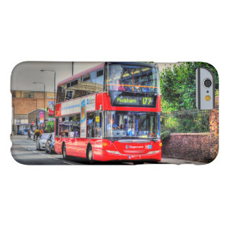Greenwich to Peckham Red Double-decker Bus UK Barely There iPhone 6 Case