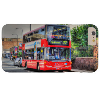 Greenwich to Peckham Red Double-decker Bus UK Barely There iPhone 6 Plus Case