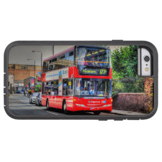 Greenwich to Peckham Red Double-decker Bus UK Tough Xtreme iPhone 6 Case
