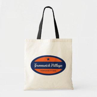 Greenwich Village Tote Bag