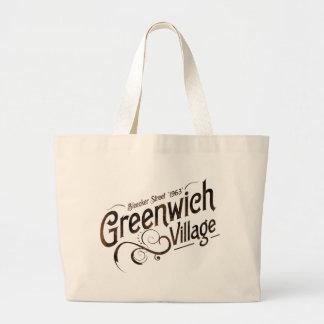 Greenwich Village Jumbo Tote Bag