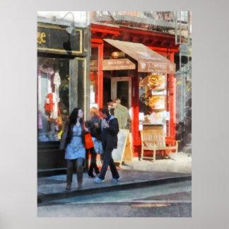 Greenwich Village Bakery Print
