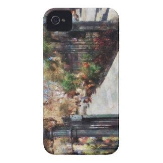Greenwich Village cuadrado del parque de Abingdon iPhone 4 Funda