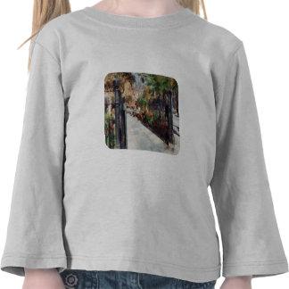 Greenwich Village cuadrado del parque de Abingdon Camisetas