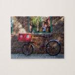 Greenwich Village de la bicicleta de la entrega Puzzle