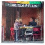 Greenwich Village de los planos de la tortilla Azulejo