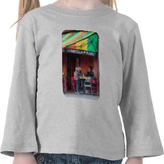 Greenwich Village de los planos de la tortilla Camisetas