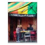 Greenwich Village de los planos de la tortilla Felicitaciones