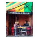 Greenwich Village de los planos de la tortilla Postal