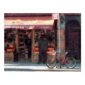 Greenwich Village de los vinos y de las bebidas es Tarjeta Postal