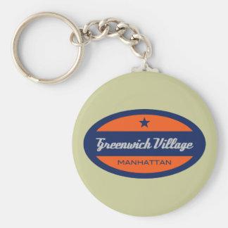 Greenwich Village Key Chain