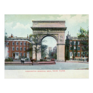 Greenwich Village, New York City Vintage Post Cards