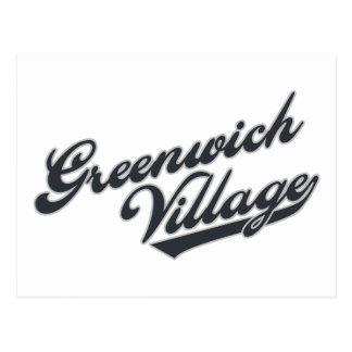 Greenwich Village Postcard
