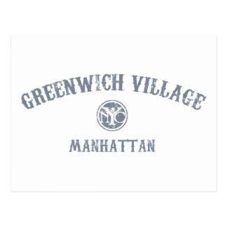 Greenwich Village Postcard