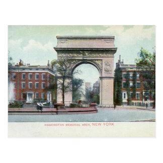 Greenwich Village vintage de New York City Postales