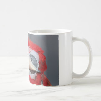 Greenwing macaw classic white coffee mug