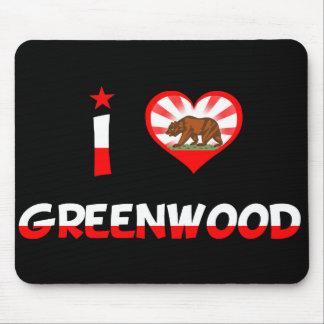 Greenwood, CA Mouse Pad