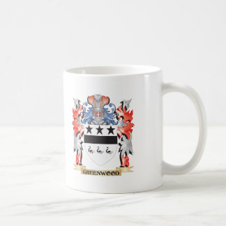 Greenwood Coat of Arms - Family Crest Coffee Mug