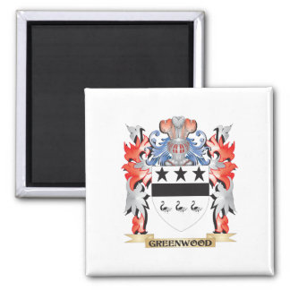 Greenwood Coat of Arms - Family Crest Magnet