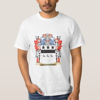 Greenwood Coat of Arms - Family Crest T-Shirt