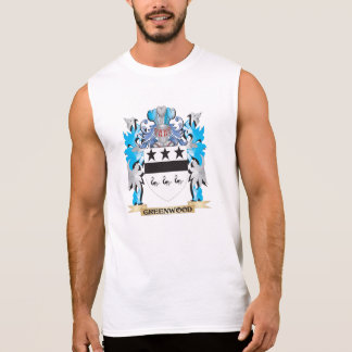 Greenwood Coat of Arms - Family Crest Sleeveless Tees