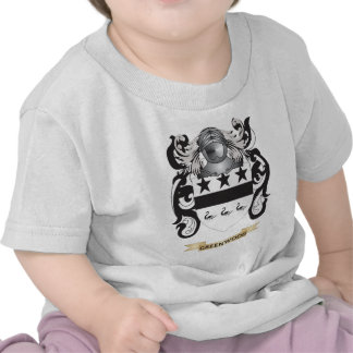 Greenwood Coat of Arms (Family Crest) Tees