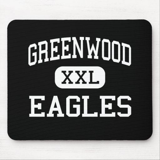 Greenwood - Eagles - High - Greenwood Mouse Pad