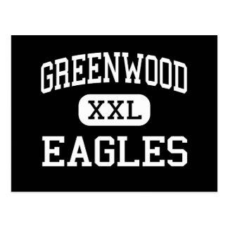 Greenwood - Eagles - High - Greenwood Postcard