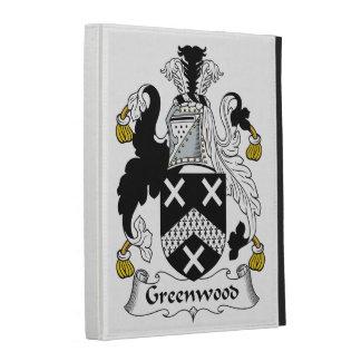 Greenwood Family Crest iPad Cases