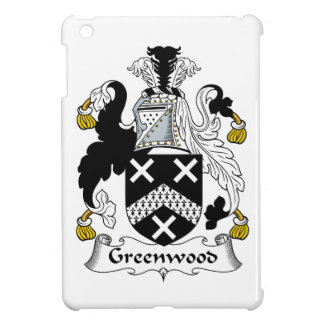 Greenwood Family Crest iPad Mini Cover
