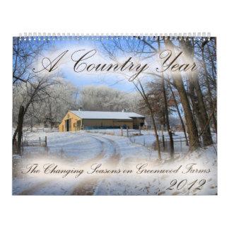 Greenwood Farms 2012 Calendar