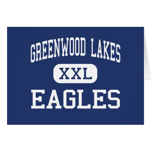 Greenwood Lakes Eagles Middle Lake Mary Greeting Card