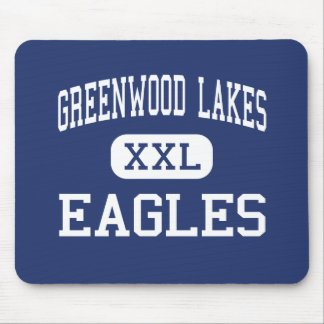 Greenwood Lakes Eagles Middle Lake Mary Mouse Pad