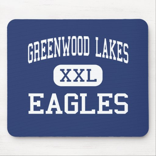 Greenwood Lakes Eagles Middle Lake Mary Mousepads