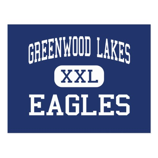 Greenwood Lakes Eagles Middle Lake Mary Postcards