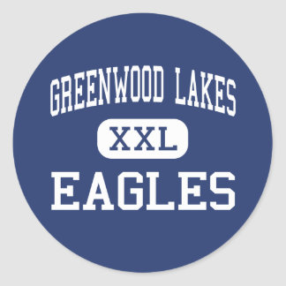 Greenwood Lakes Eagles Middle Lake Mary Stickers