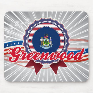 Greenwood, ME Mouse Pad