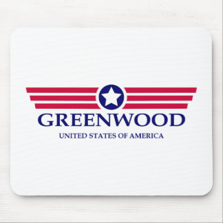 Greenwood Pride Mouse Pad