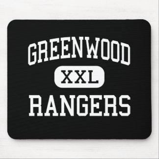 Greenwood - Rangers - High School - Midland Texas Mouse Pad