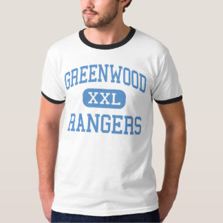 Greenwood - Rangers - Senior - Midland Texas T-Shirt