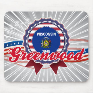 Greenwood, WI Mouse Pad