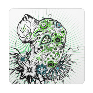 Greeny Great Dane Puzzle Coaster