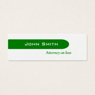 Greeny Mini Business Card