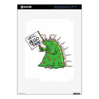 Greep Graphic Well Hello There Skin For iPad 3