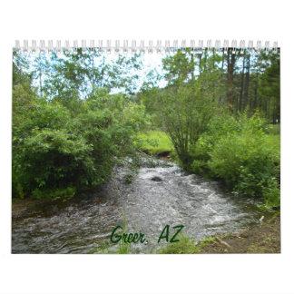 Greer, calendario de la naturaleza de AZ